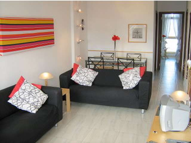 Bright & airy living & dining area   - Casa Lisa Apartment, El Cotillo, Fuerteventura